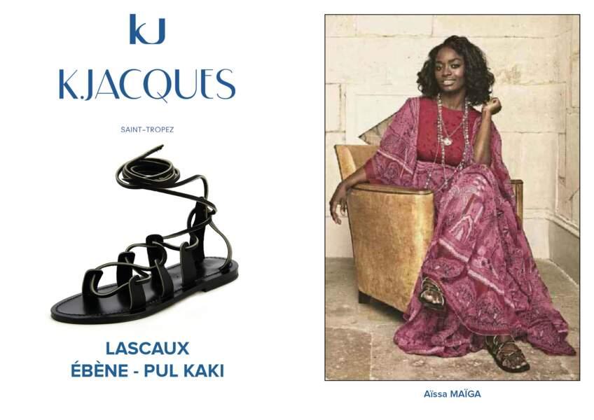 Aïssa Maïga porte le modèle Lascaux de K.Jacques.