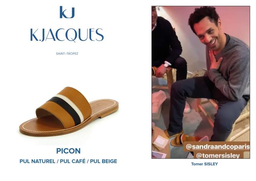 Tomer Sisley porte le modèle Picon de K.Jacques.