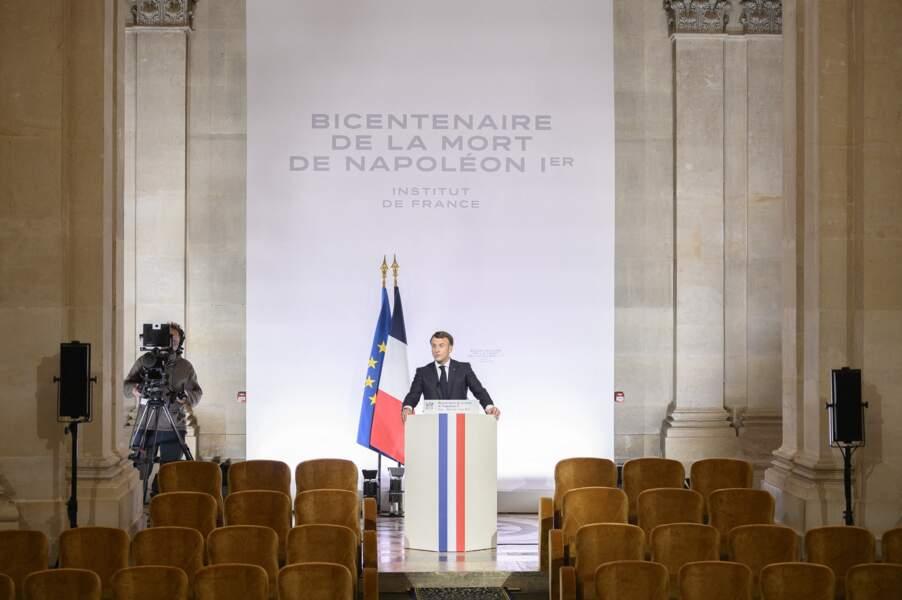Discours d'Emmanuel Macron ce mercredi 5 mai à Paris
