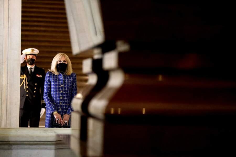 Brigitte Macron ce mercredi 5 mai aux Invalides