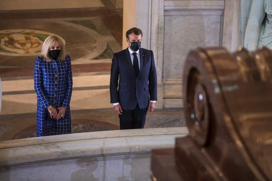 Le couple présidentiel ce mercredi 5 mai à Paris