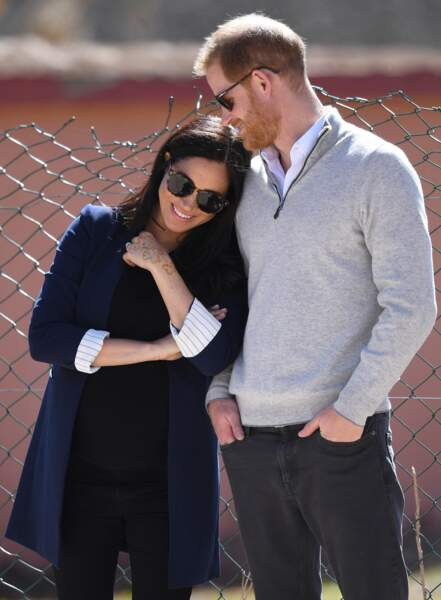 24 février 2019 : Meghan et Harry en voyage officiel au Maroc