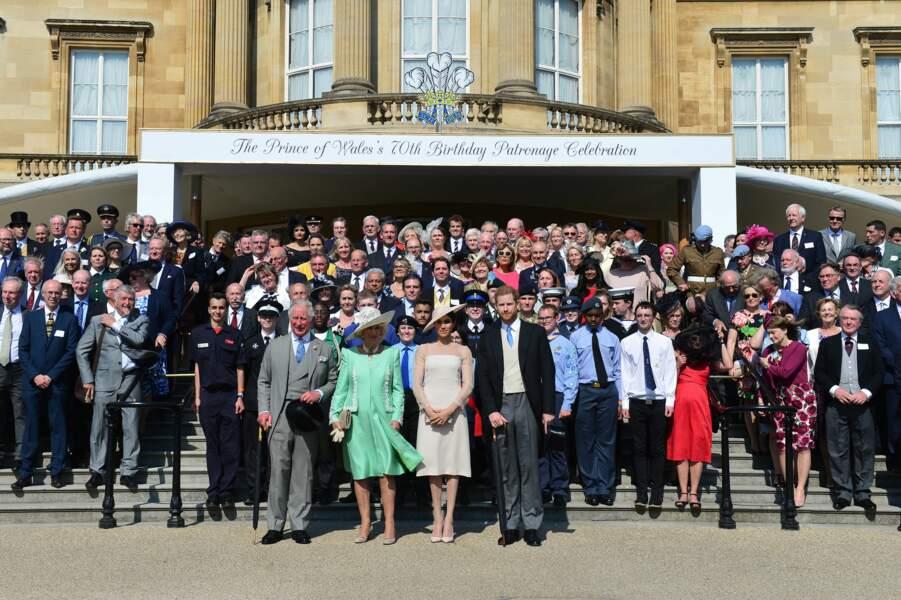 22 mai 2018 : Meghan et Harry célèbrent les 70 ans du prince Charles