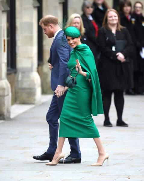 9 mars 2020 : Meghan et Harry font leur dernière apparition officielle en tant que membres actifs de la famille royale