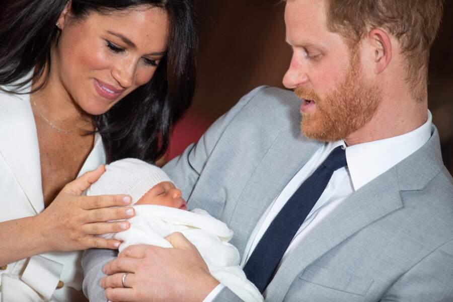 8 mai 2019 : Meghan et Harry présente leur fils Archie