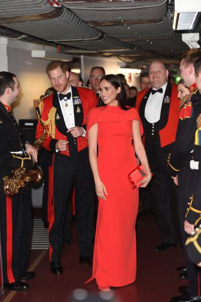 7 mars 2020 : Harry et Meghan assistent à un concert au Royal Albert Hall