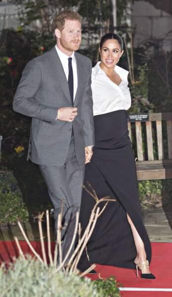 7 février 2019 : Harry et Meghan foulent le tapis rouge des Endeavour Fund Awards