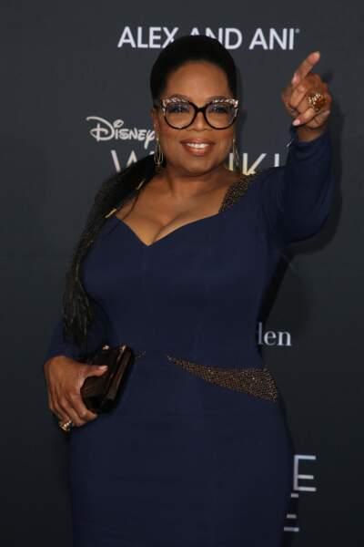 Oprah Winfrey à Los Angeles, le 26 février 2018