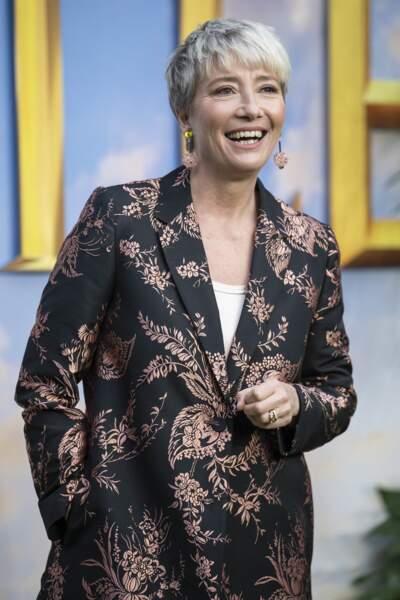Emma Thompson à Londres, le 24 janvier 2020