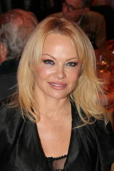 Pamela Anderson en Autriche, le 12 novembre 2019