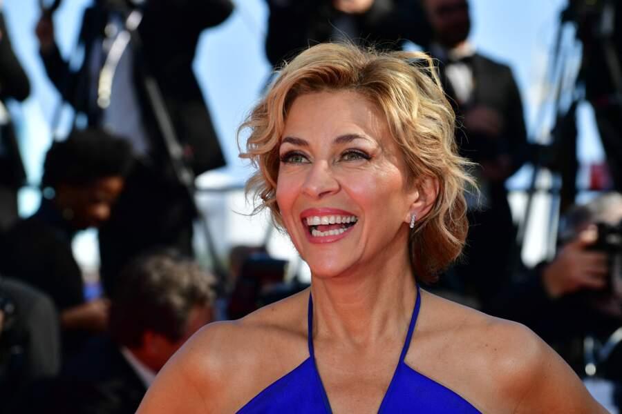 Corinne Touzet au Festival de Cannes en mai 2019