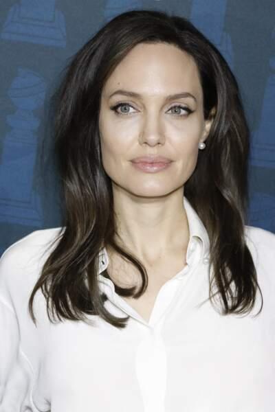 Angelina Jolie à Hollywood le 6 janvier 2018.