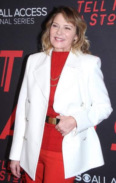 Kim Cattrall à New York le 23 octobre 2018.