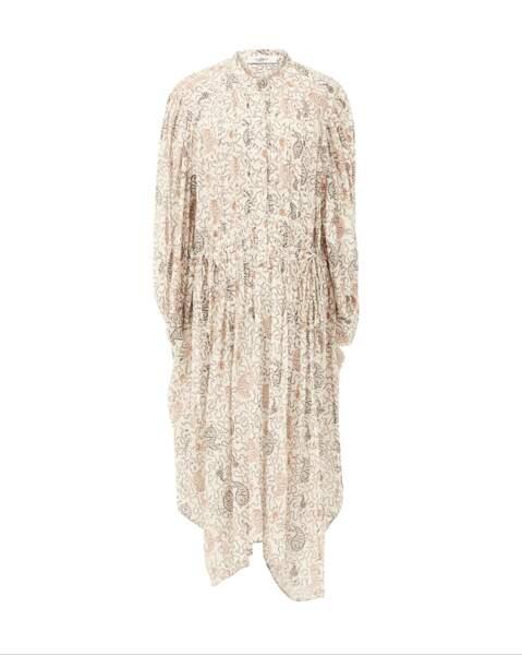 Robe Ariana coupe ample et taille marquée, 380€, Isabel Marant Etoile