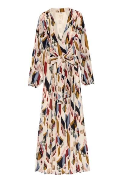 Robe longue esprit kimono Gizeh, 175€, Sézane