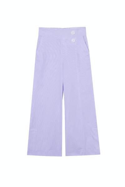 Pantalon purple vichy - the gardener uniform, 176€, Salut Beauté