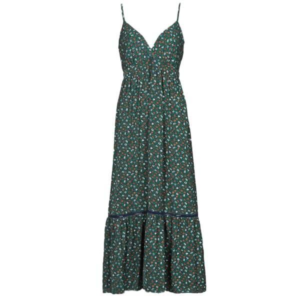 Robe longue à fines bretelles ajustables, 53,99€, Molly Bracken chez SPARTOO