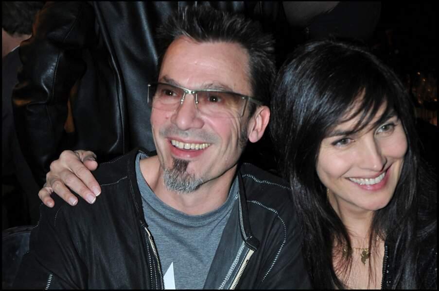 Florent Pagny et Azucena Caamaño au 25e Festival automobile aux Invalides