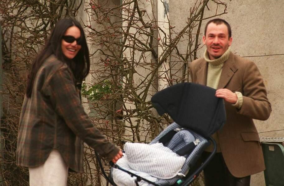 Florent Pagny et Azucena se promènent en famille avec leur fille Inca