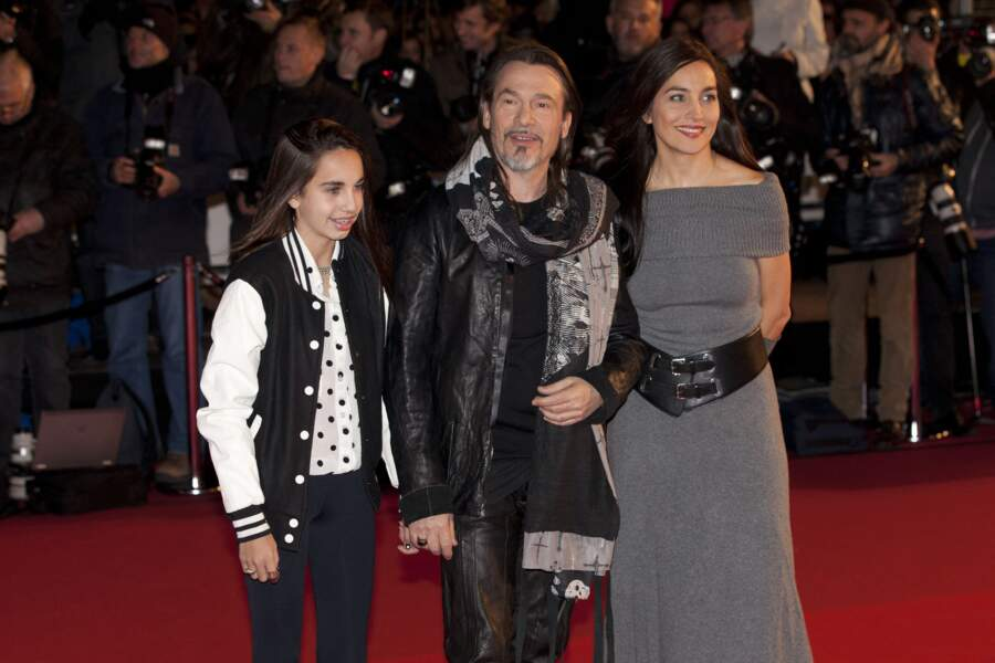 Florent Pagny et Azucena Caamaño à la 15eme edition des NRJ Music Awards a Cannes, le 14 decembre 2013