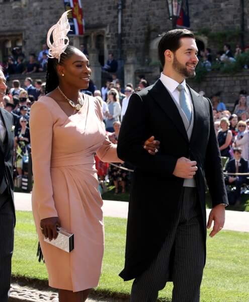 19 mai 2018 : Serena Williams et Alexis Ohanian