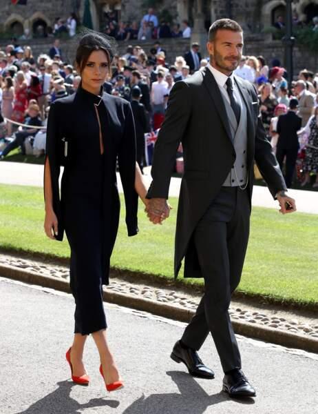 19 mai 2018 : David Beckham et sa femme Victoria