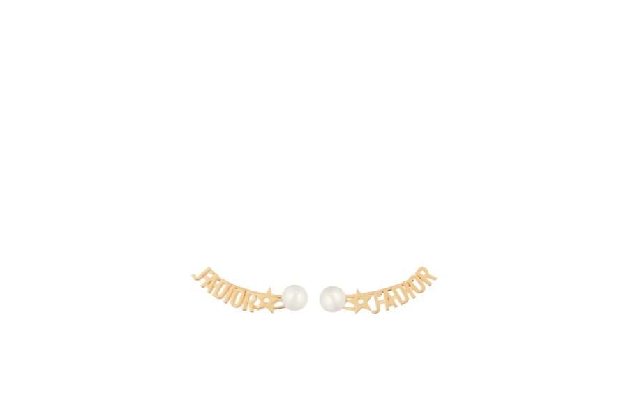 Boucles d'oreilles, Dior Joaillerie, 290 €.