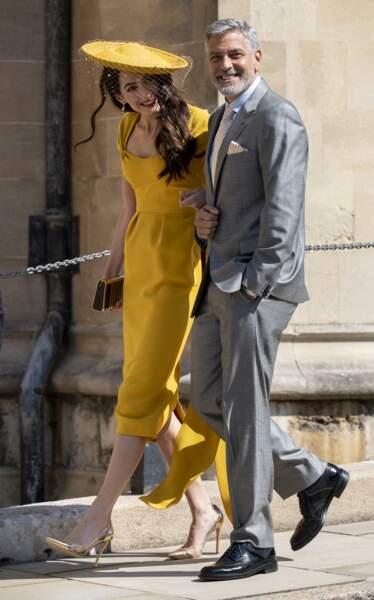 19 mai 2018 : George Clooney et sa femme Amal Clooney