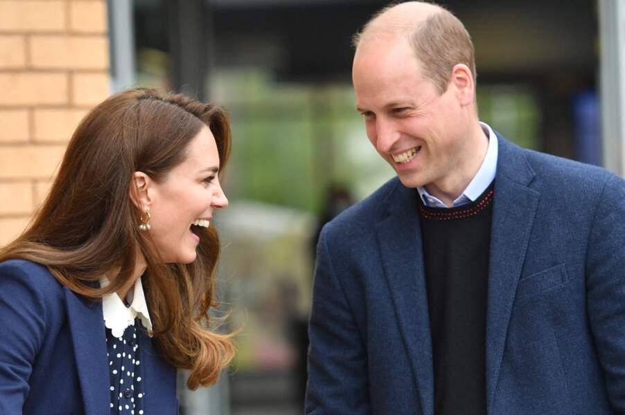 Kate et William ont pris beaucoup de plaisir à faire du jardinage lors de cette visite.