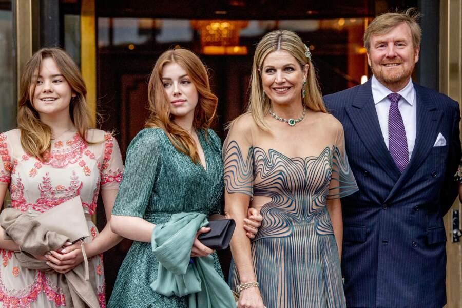 La famille royale des Pays-Bas était réunie à l'occasion du 50 ème anniversaire de Maxima des Pays-Bas, qui aura lieu le 17 mai 2021.