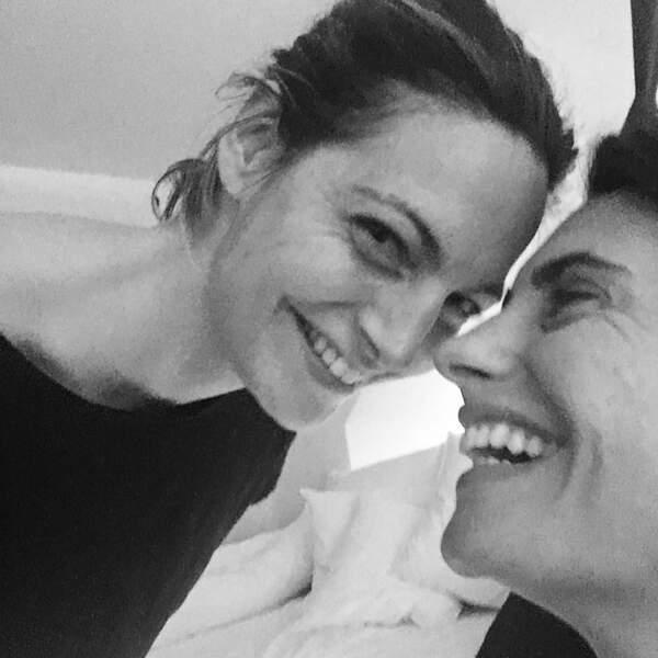 Alessandra Sublet et sa soeur Romy