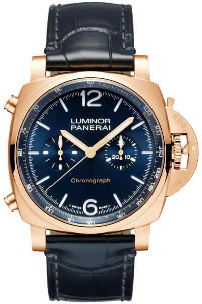 Montre luminor chrono goldtech, 26 500€, Panerai