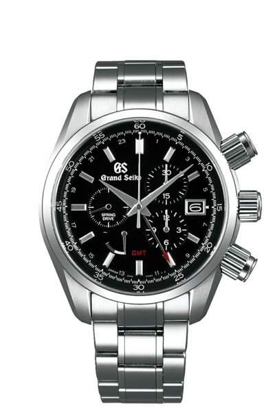 Montre chronographe sport collection, 8 300€, Grand Seiko