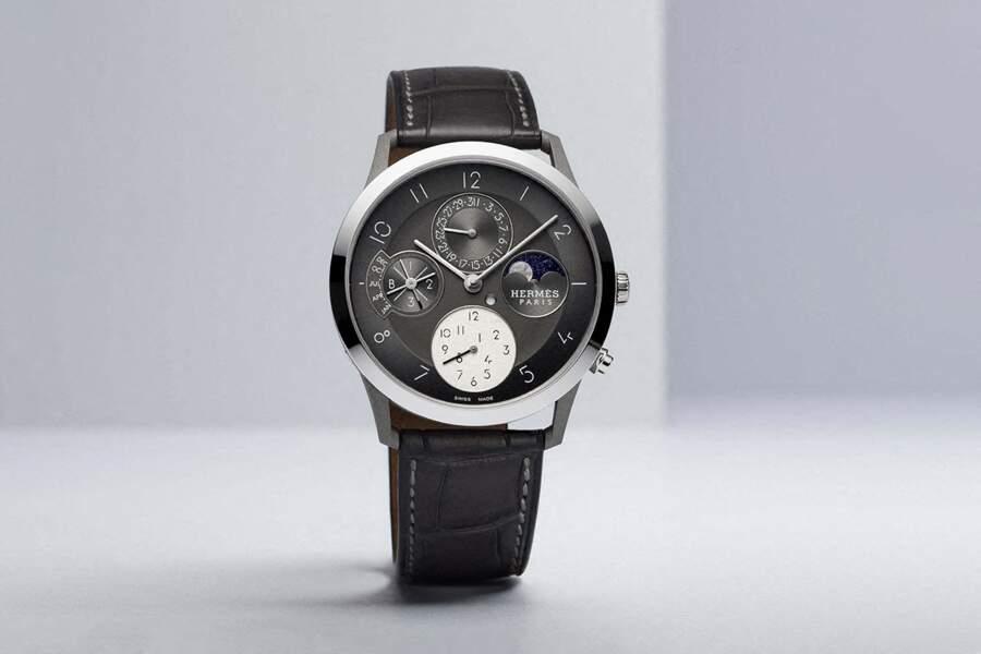 Hermès lance une nouvelle version de sa montre Slim