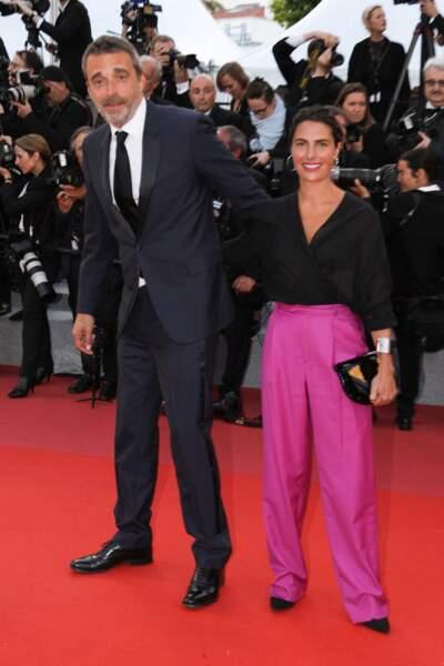 Clément Miserez et Alessandra Sublet à Cannes, en mai 2018