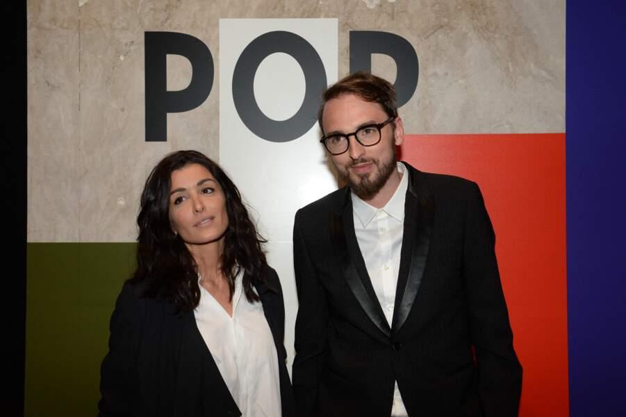 Jenifer Bartoli et Christophe Willem - Soirée de lancement de la collection Pop de Lancel au Palais de Tokyo à Paris, le 23 avril 2015.