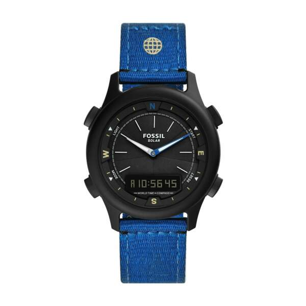 Montre Solar Watch earth day, 169€, Fossil