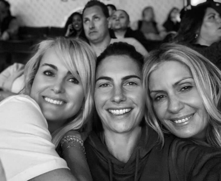 Alessandra Sublet, Laeticia Hallyday et une amie à Los Angeles, en mars 2019