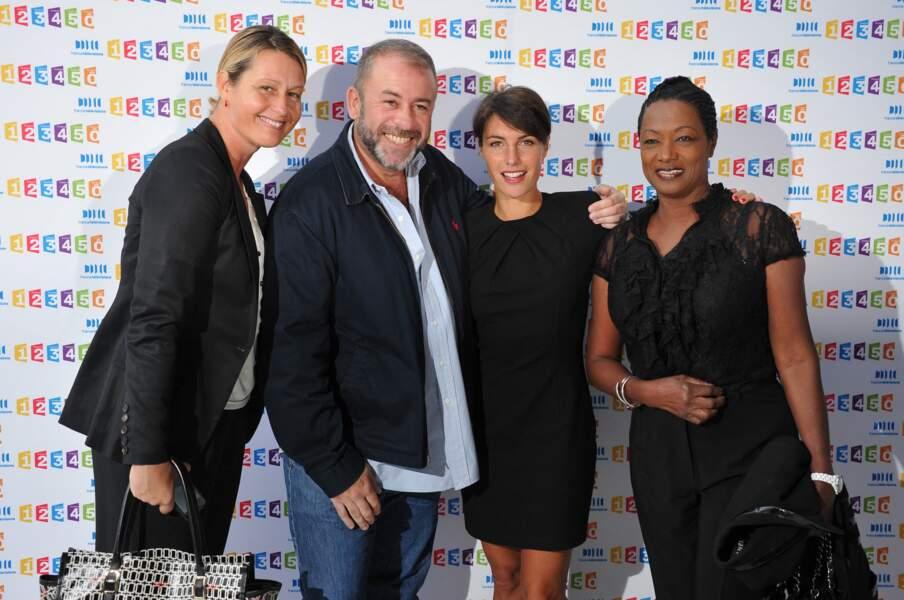 Luana Belmondo, Emmanuel Maubert, Alessandra Sublet et Babette de Rozieres pour C à vous