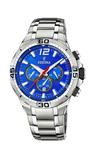 Montre chronographe, 199€, Festina