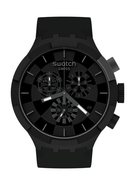Montre checkpoint black, 135€, Swatch