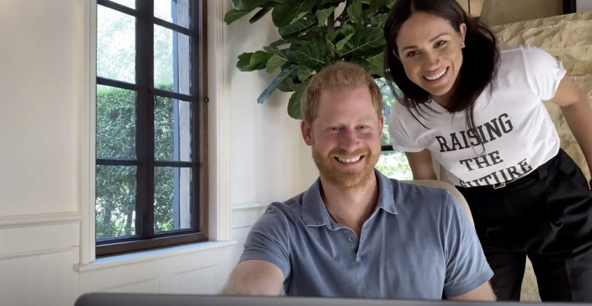 "17 mai 2021 : Harry et Meghan apparaissent, radieux, dans le documentaire ""The Me You Can't See"""