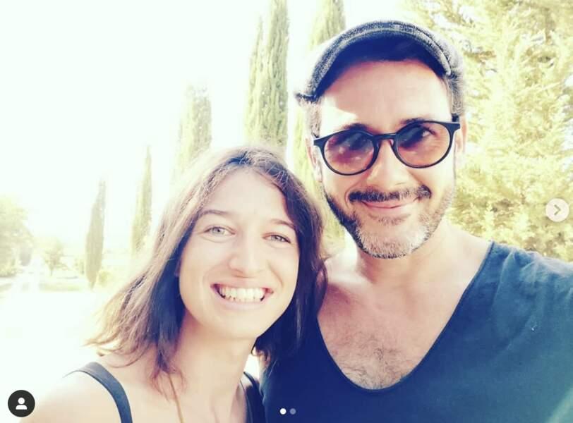 Emanuele Giorgi et Cécile Mazéas, le 24 mai 2020