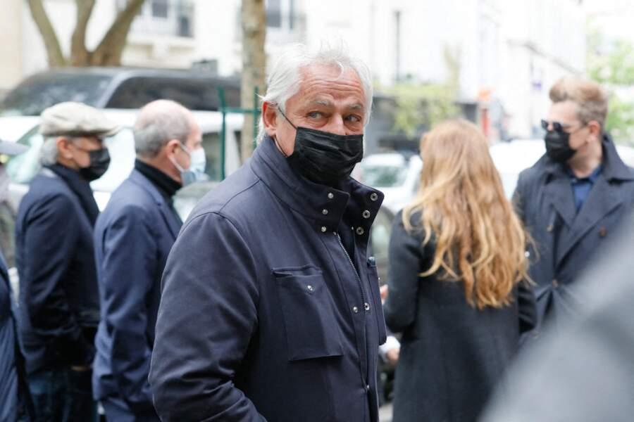 Fabrice Le Ruyet aux obsèques de Jean-Yves Bouvier ce 19 mai à Paris