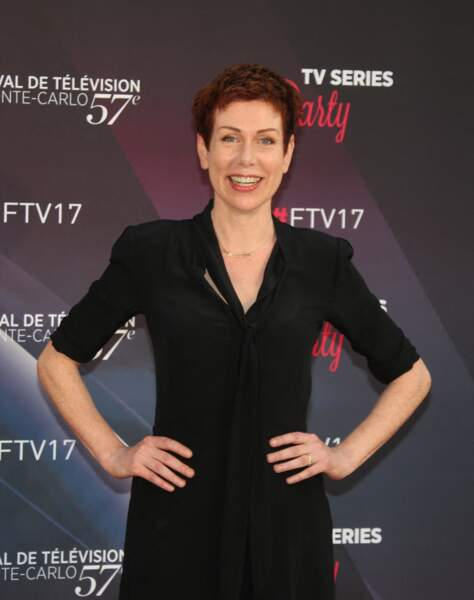Marie Réache (Plus belle la vie) - Photocall de la soirée 'Series Party' lors du 57ème Festival de télévision de Monte-Carlo le 17 juin 2017.