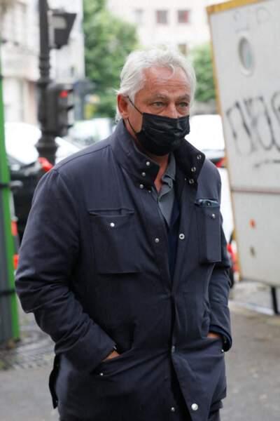 Fabrice Le Ruyet aux obsèques de Jean-Yves Bouvier ce mercredi 19 mai à Paris