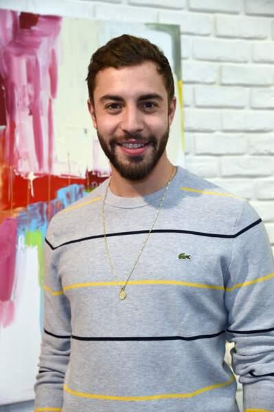 """Marwan Berreni au vernissage de l'exposition """"Au Coeur Des Villes"""" de l'artiste C.Faindt au Louvre Factory, le 4 février 2019."""