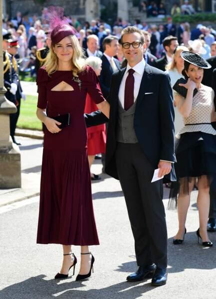 19 mai 2018 : Gabriel Macht et sa femme Jacinda Barrett arrivent à la cérémonie