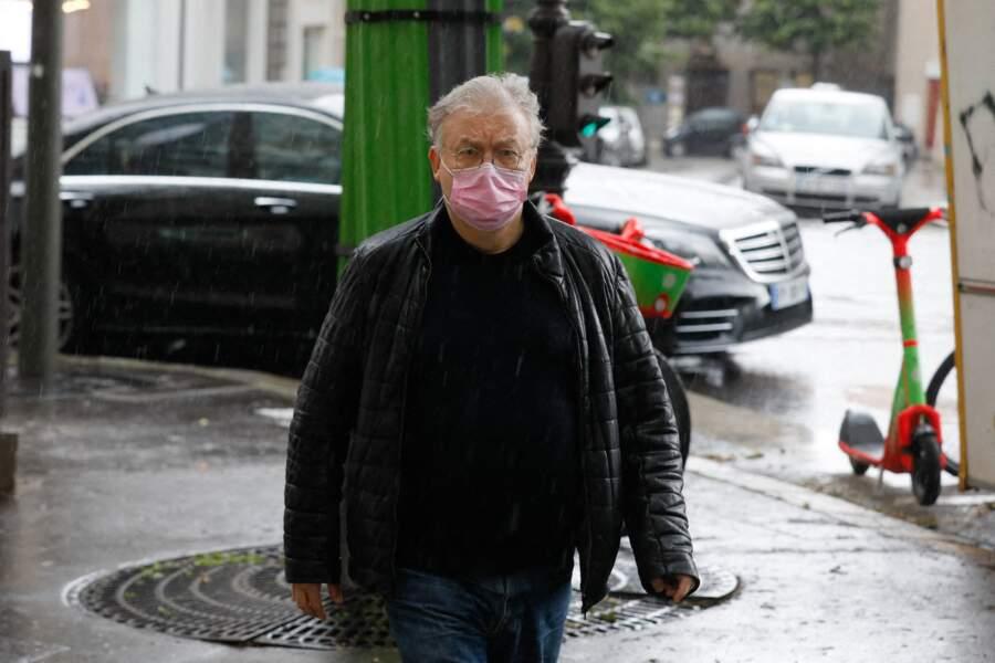 Dominique Besnehard aux funérailles de Jean-Yves Bouvier ce mercredi 19 mai