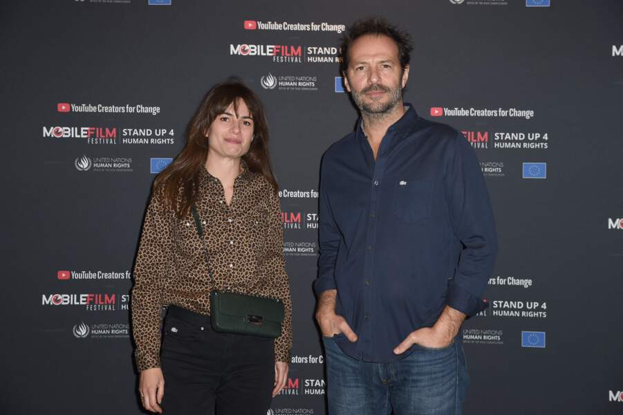 """Juliette Chêne et Jean-Charles Chagachbanian - Cérémonie de remise des prix du """"Mobile Film Festival"""" au cinéma MK2 Bibliothéque à Paris le 4 décembre 2018."""